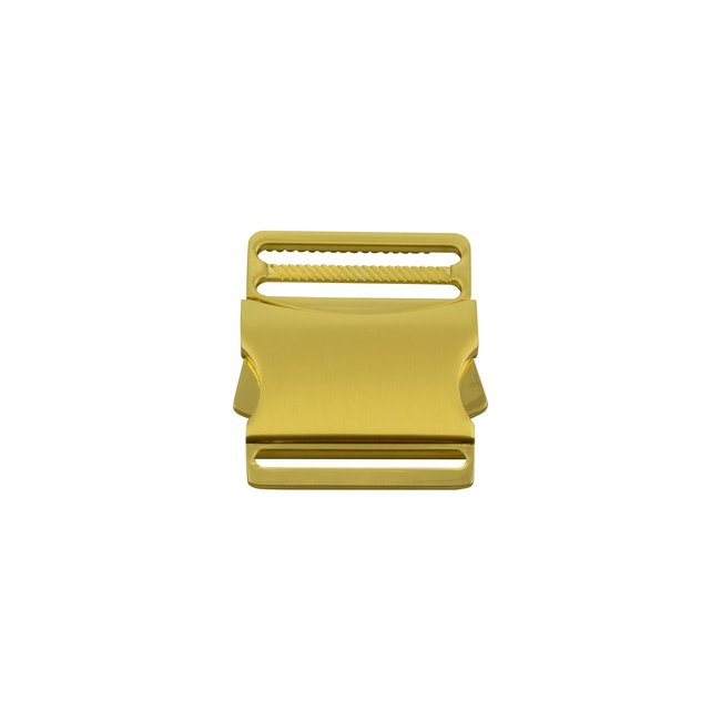 Metalen Klikgesp Goud 40mm