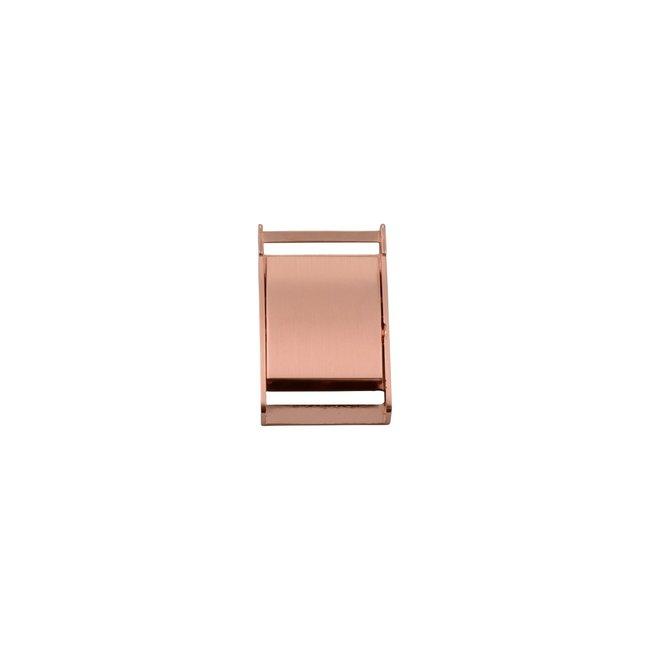 Snaply Metalen klikgesp Rosé goud 25mm