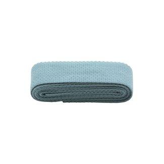 Rico Design Tassenband Smokey Blue 40mm