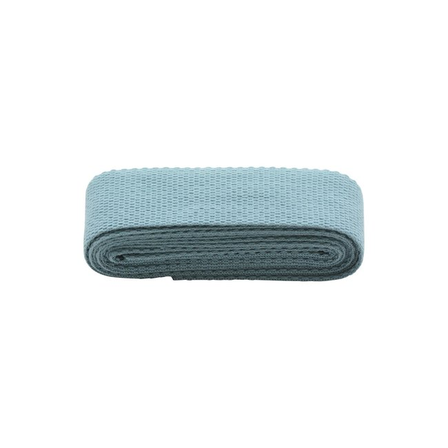 Rico Design Webbing strap Smokey Blue 40mm