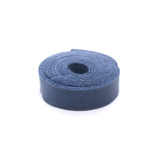 K-Bas Nerfleren riem Jeansblauw 19mm