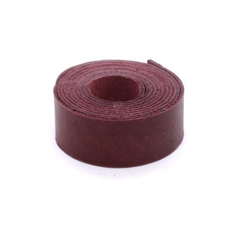 K-Bas Smooth leather strap Cherry 28mm