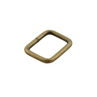 K-Bas Passant Rechthoekig Brons 25mm zwaar