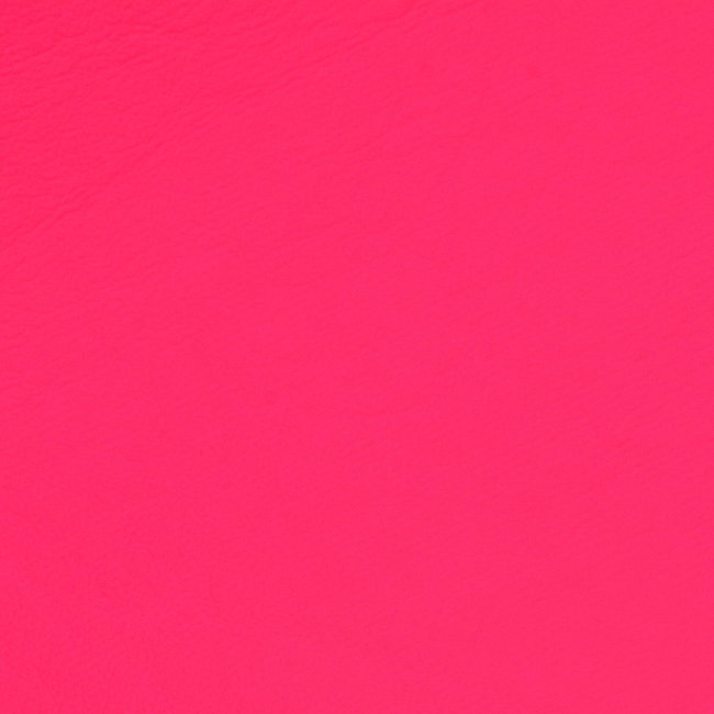 Artificial Leather Neon Pink
