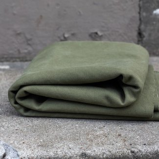 Mind the maker Heavy washed canvas Army green