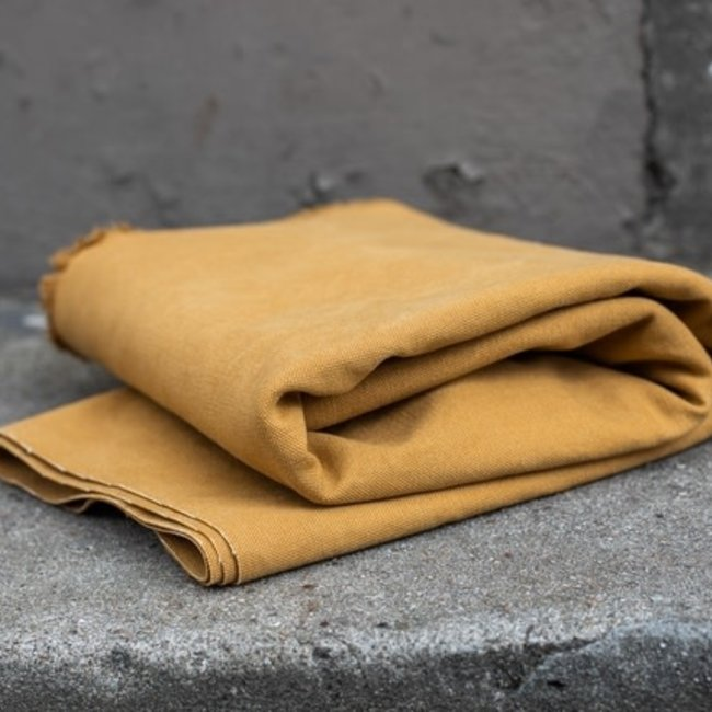 Mind the maker Heavy washed canvas Mustard