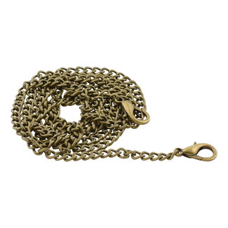 K-Bas Chain round links incl. snap hooks Anti-brass