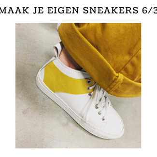 K-Bas Workshop Maak je eigen sneakers  6/3/2020