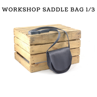 K-Bas Workshop Saddle bag (naaien met de hand)  1/3/2020