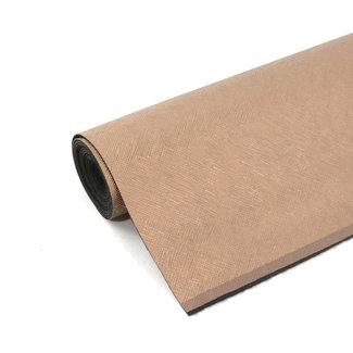K-Bas Artificial leather Diagonal Shiny Bronze