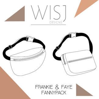 Wisj Frankie & Faye Fanny pack Sewing Pattern