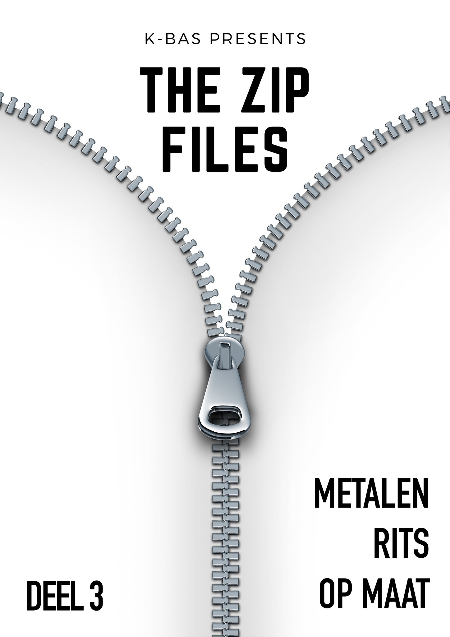 The zip files: deel 3 - metalen rits op maat