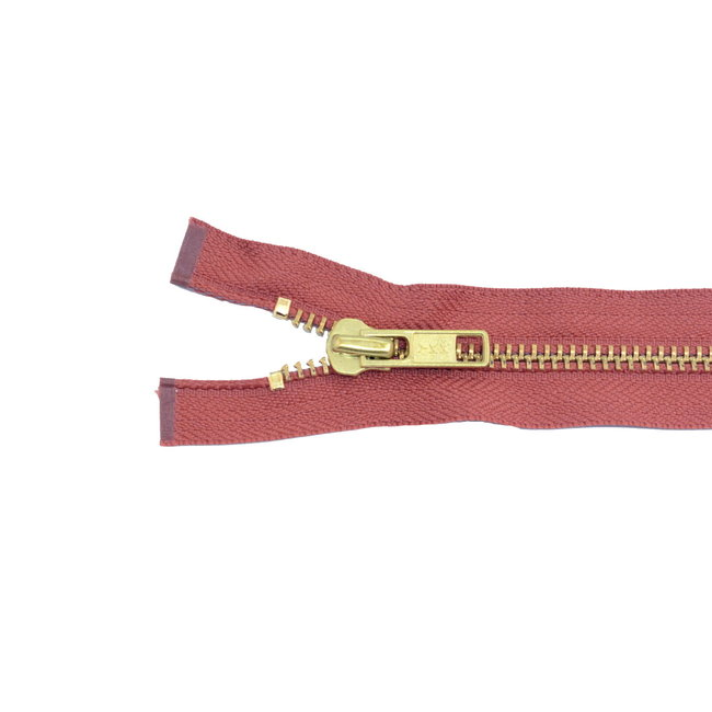 YKK Metal zipper Brass Rust