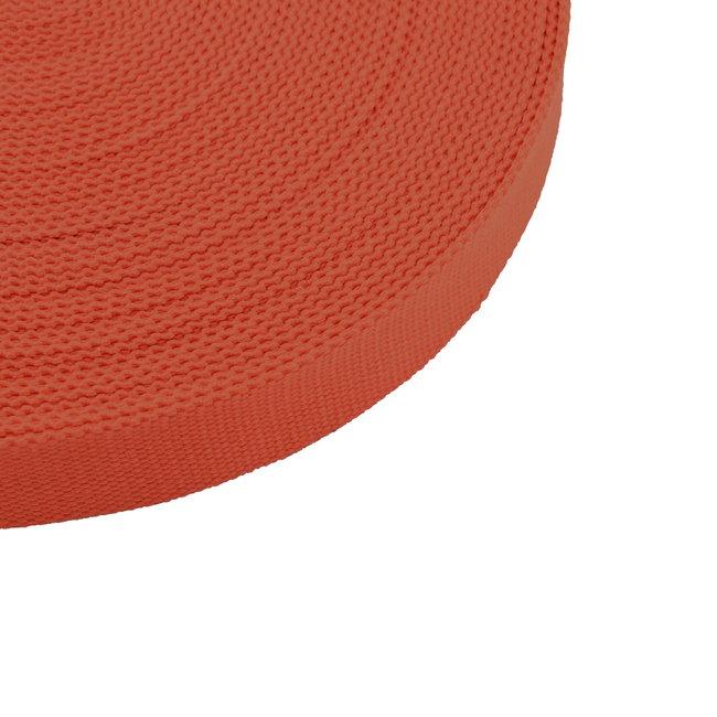 Tassenband Uni Donker Oranje