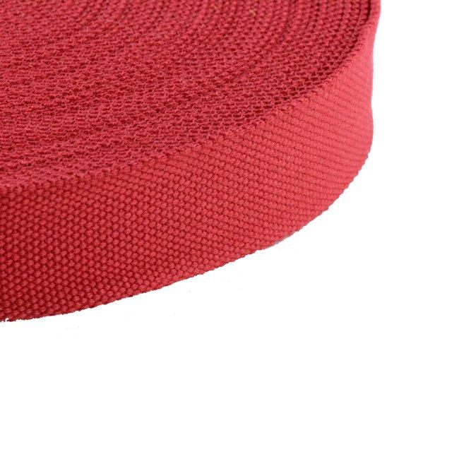 Tassenband Uni Rood