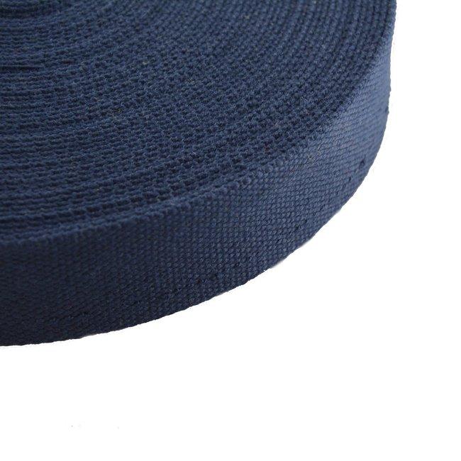 Tassenband Uni Donkerblauw
