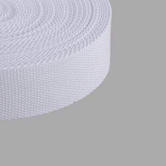 Tassenband Uni Wit