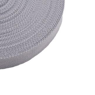 Tassenband Uni Lichtgrijs