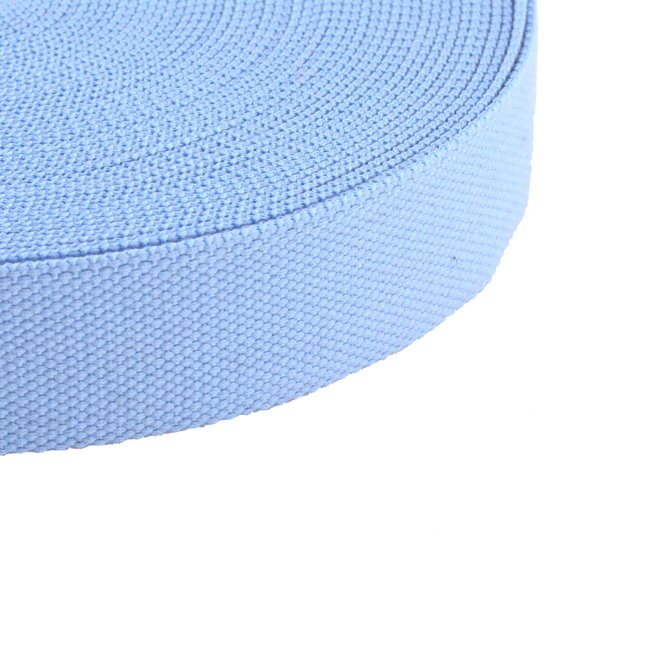 Webbing Uni Light blue