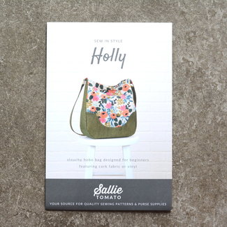 Sallie Tomato Holly Hobo bag Patroon