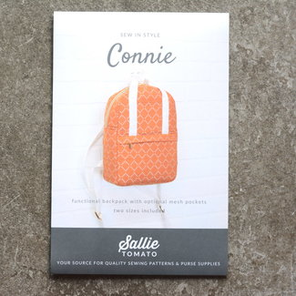 Sallie Tomato Connie Backpack Patroon