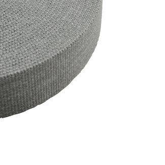 Webbing Jeanslook Mouse grey