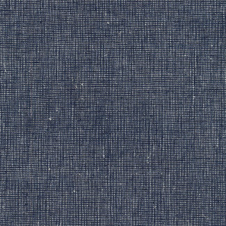 Robert Kaufman Essex linnen Homespun Navy