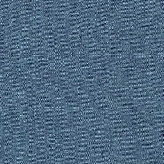 Robert Kaufman Essex linen Peacock