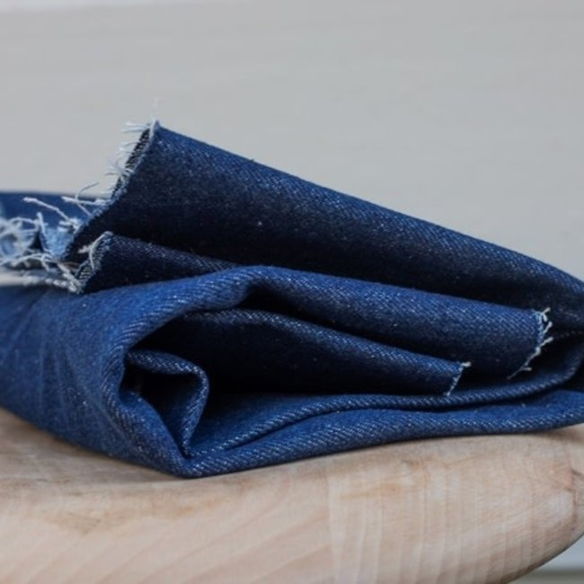 Mind the maker Heavy washed Jeans Donkerblauw