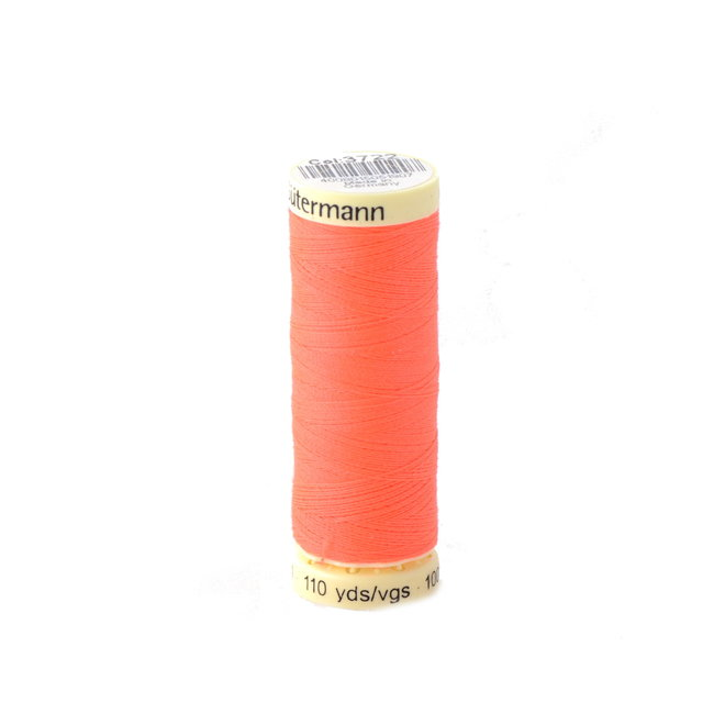 Gütermann Universal sewing thread Fluo orange