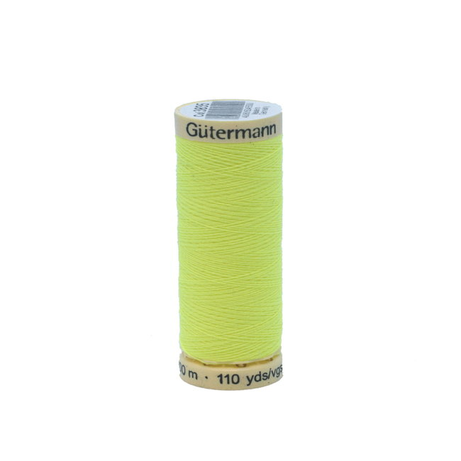 Gütermann Universal sewing thread Fluo Yellow