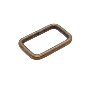 K-Bas Passant Rechthoekig Brons 32mm zwaar