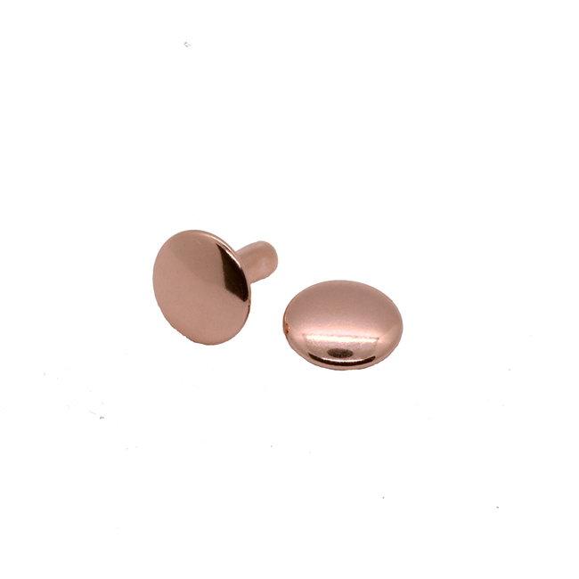 K-Bas Double cap rivets, Rose gold