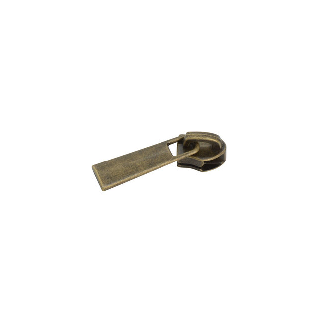 Slider Classic for coil zipper Anti-Brass