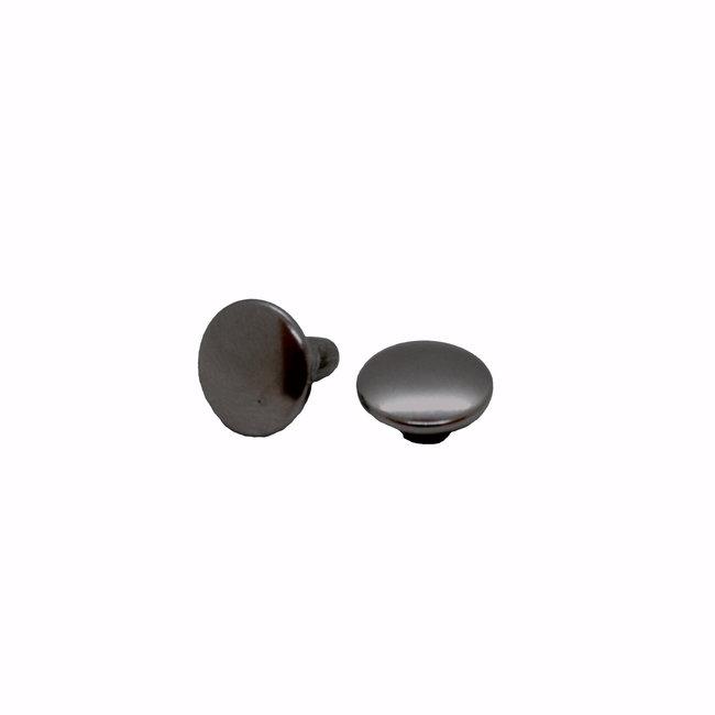 K-Bas Double cap rivets, Black Nickel