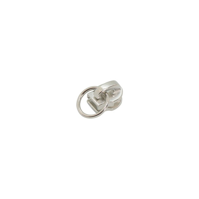K-Bas Slider Ring Nickel for coil zipper