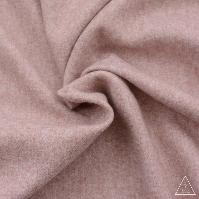 K-Bas Brushed canvas Vissengraat Blush