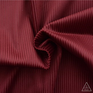 Deco Corduroy Wine red