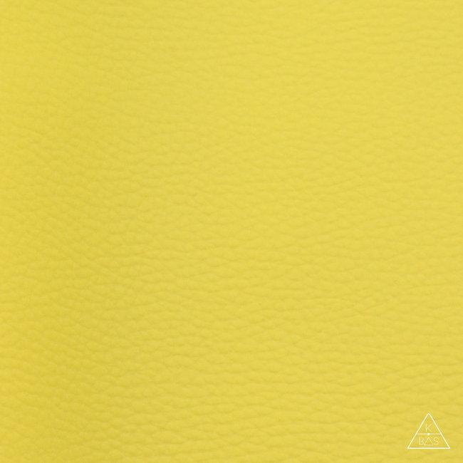 K-Bas Kunstleer Basic Citroengeel
