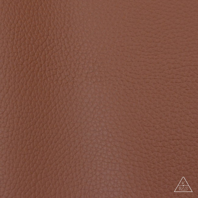 Zipper zoo Artificial leather Basic Light cognac