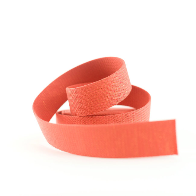 See You At Six Webbing Lurex Dark Persimmon 38mm
