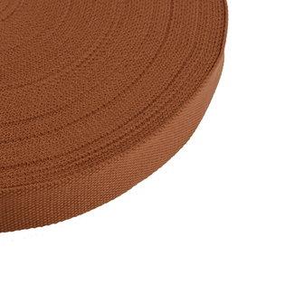 Tassenband Uni Cognac