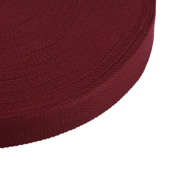 Tassenband Uni Wijnrood