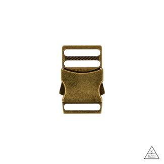 Metalen Klikgesp Brons