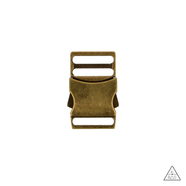 Metal Side release buckle Anti brass
