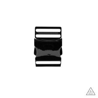 Metal Side release buckle Black nickel