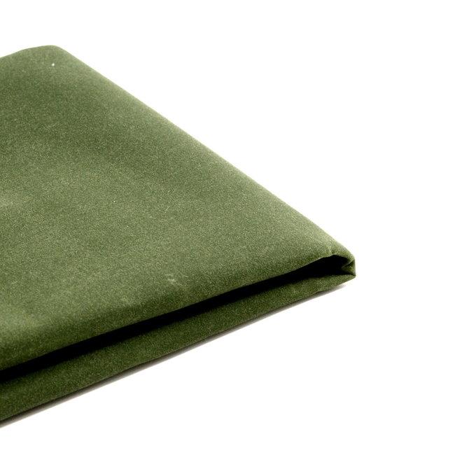 YKK Waxed cotton Army green