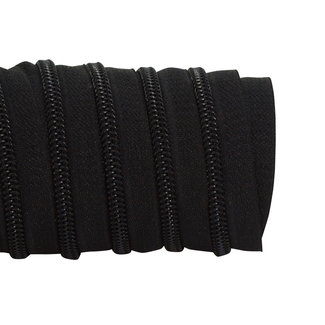 K-Bas Zipper tape Coil Black - Black