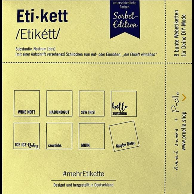 Mehretikette Sew in Labels Edition 3 - Sorbet