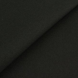 Fijne polyester canvas Zwart